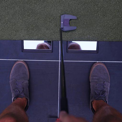 Knee Alignment Putting