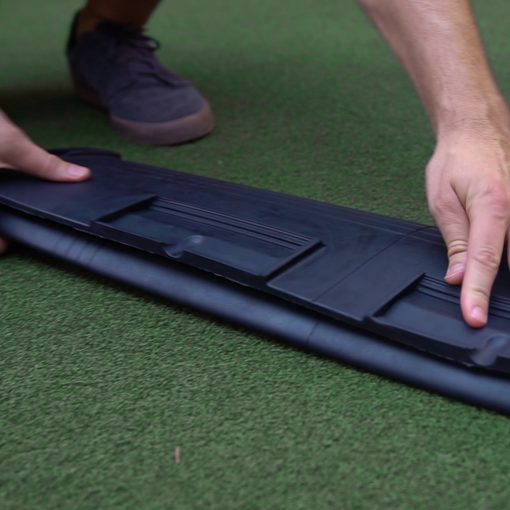 Trifold Feature for Putting Mat